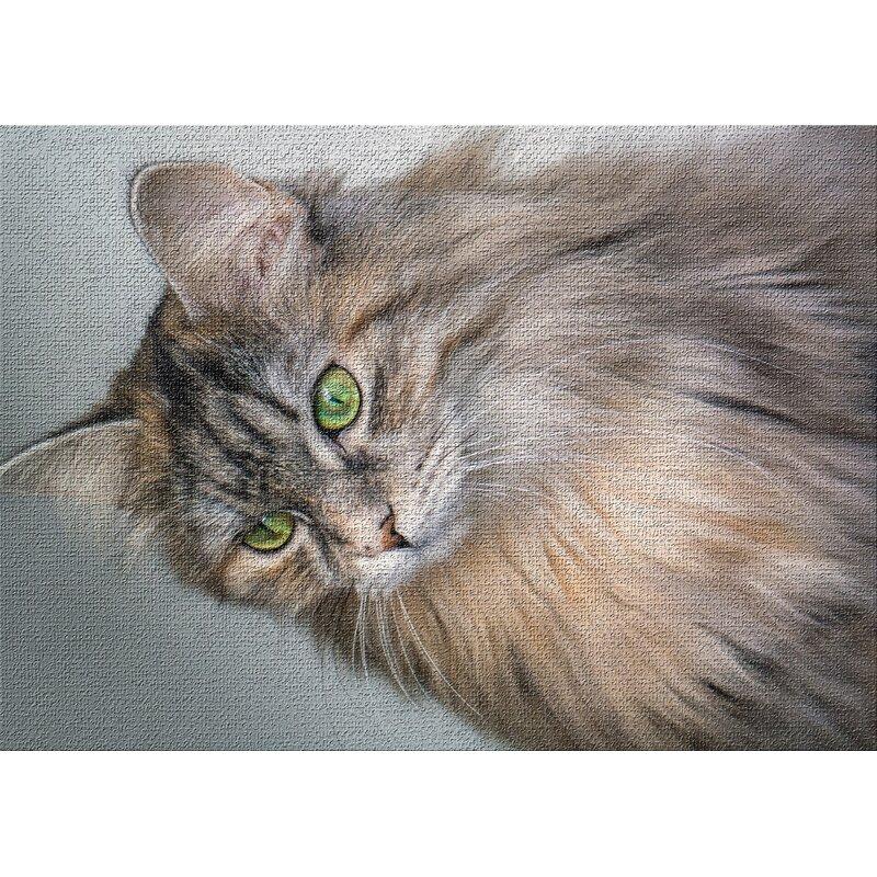 East Urban Home Cat 13 Beige Area Rug Wayfair