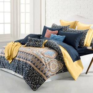 Rollins 16 Piece Reversible Bed-In-a-Bag Set