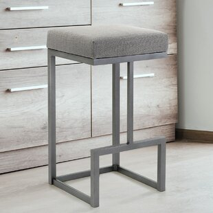 Folkes 30 Bar Stool Everly Quinn