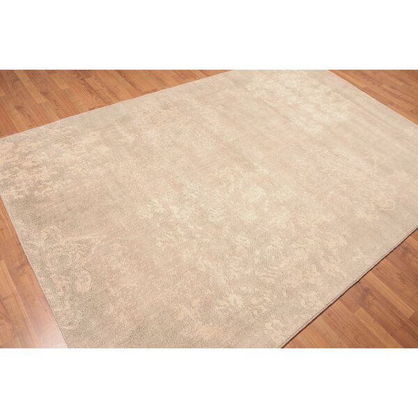 Canora Grey Harmon Wool Beige Area Rug Wayfair
