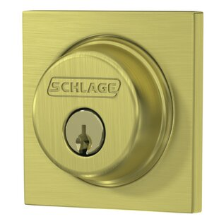 Single Cylinder Deadbolt with Collins Trim by Schlage