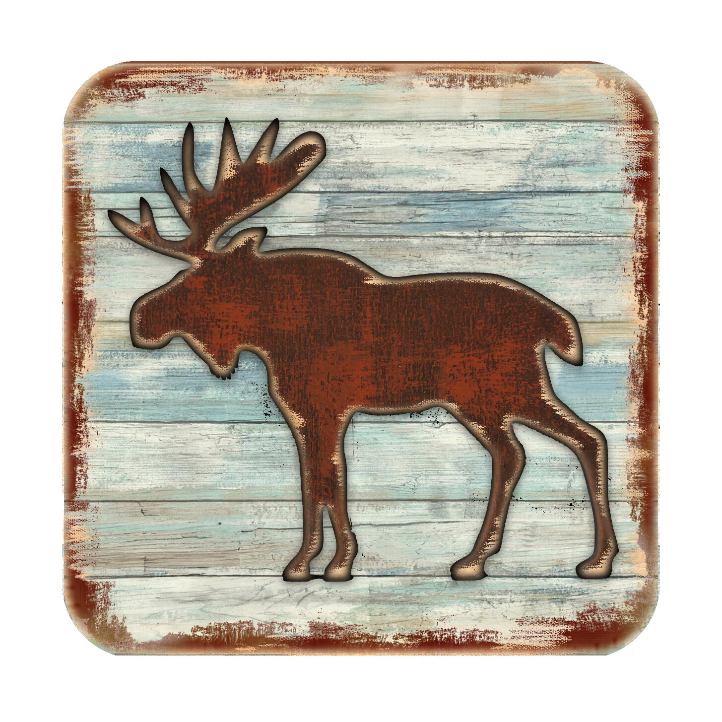 Loon Peak Moose Coaster Wayfair
