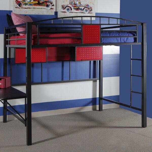 garage full loft bed