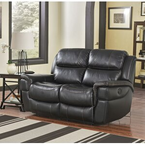 Twomey River Power Reclining Loveseat by Red..