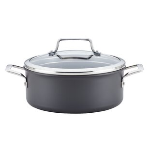 5-qt. Hard-Anodized Aluminum Round Dutch Oven with Lid