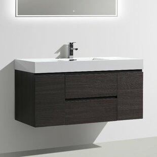 Leni 47 Wall-Mounted Single Bathroom Vanity Set ByOrren Ellis