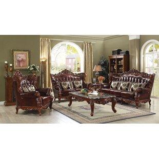 Astoria Grand Misael Reclining Configurable Living Room Set