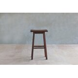 Coyotepe Rosita Walnut 30 Bar Stool by Masaya & Co
