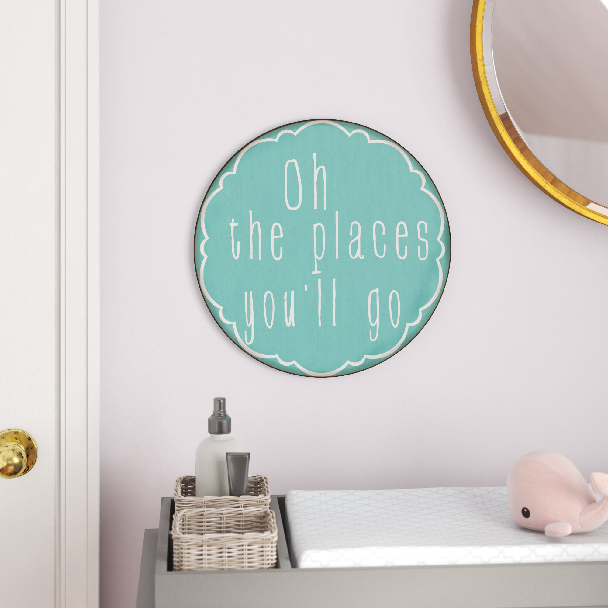 Places You Ll Go Sign Wall Decor