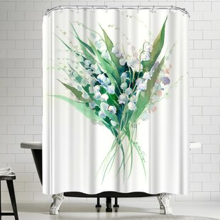 Suren Nersisyan Lilies of the Valley Suren 1 Single Shower Curtain