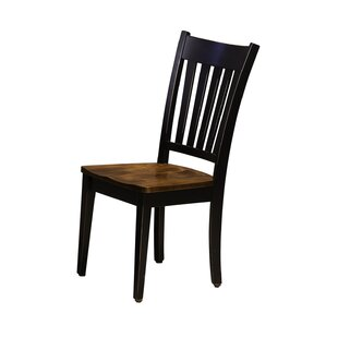 Watertown Solid Wood Dining Chair by August Grove Cheap