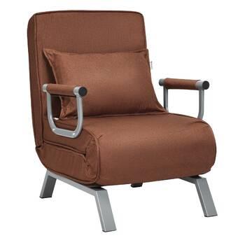 Zipcode Design Deanne 31 5 Wide Tufted Convertible Chair Wayfair