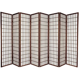 Marissa 8 Panel Room Divider by World Menagerie