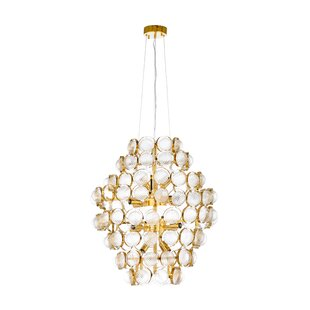 Billie Jean 16-Light Geometric Chandelier by Wildwood
