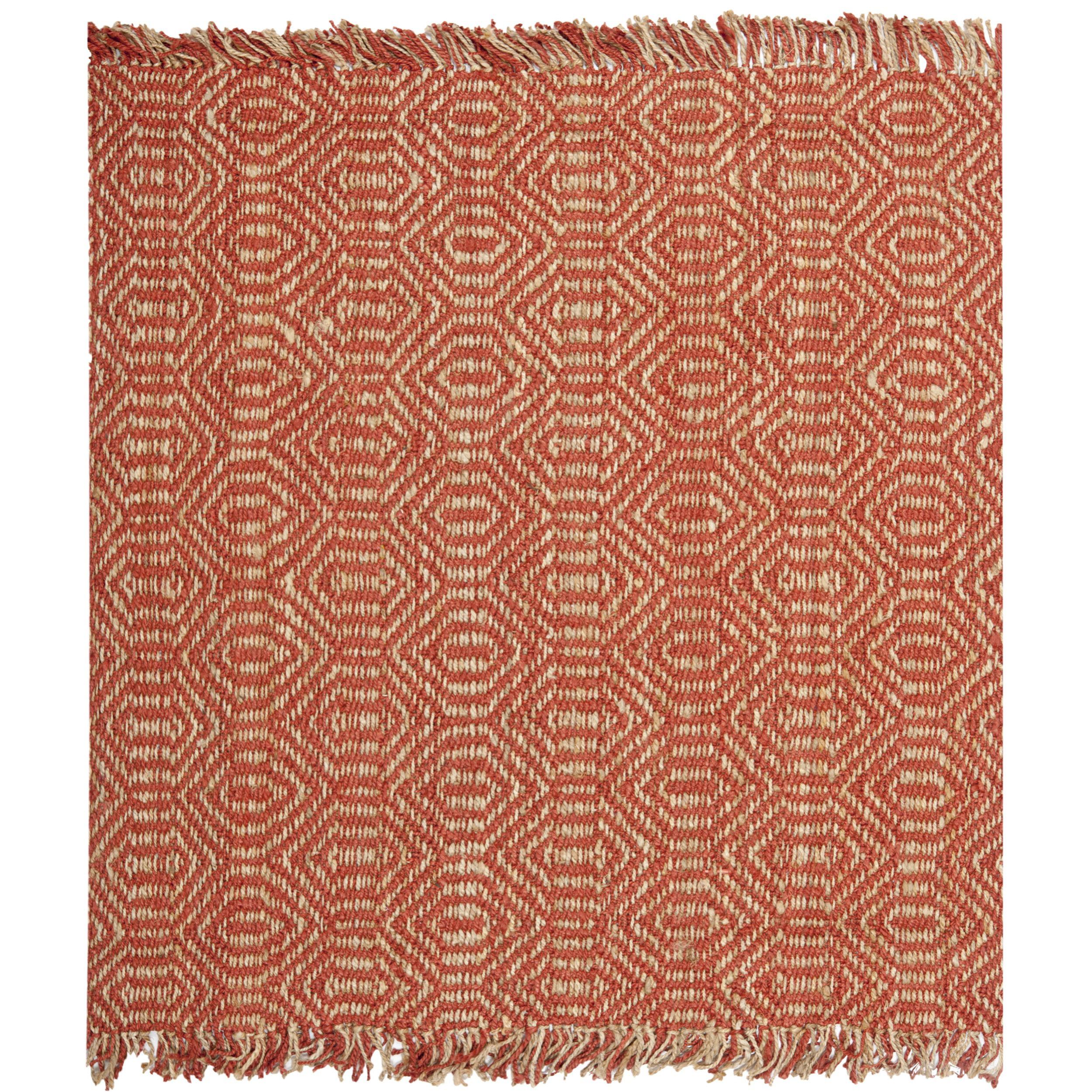 Muriel Southwestern Handmade Flatweave Jute Sisal Rust Area Rug Reviews Allmodern