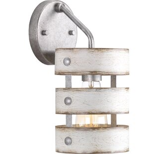 Emaria 1-Light Armed Sconce by 17 Stories