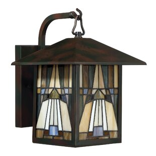 Bush 1-Light Outdoor Wall Lantern