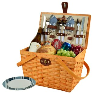 Frisco 2 Person Picnic Basket