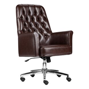 Compare prices Dipaolo Executive Chair by Darby Home Co Reviews (2019) & Buyer's Guide