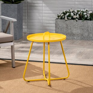 Wrought Studio Stroup Aluminum Side Table