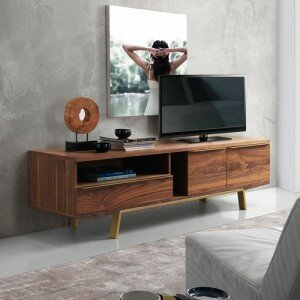 Affordable Arco TV Stand for TVs up to 70 by Bellini Modern Living Reviews (2019) & Buyer's Guide
