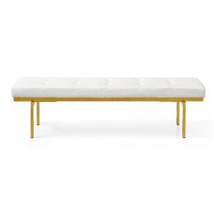 Mercer41 Leet Upholstered Bench