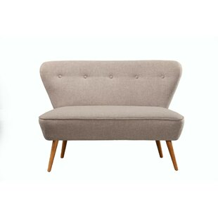 Fromberg Button Tufted Rubberwood Splayed Legs Upholstered Bench by Brayden Studio