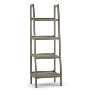 Online Reviews Sawhorse Ladder Bookcase By Simpli Home
