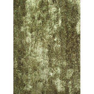 Gy Viscose Solid Hunter Green Area Rug