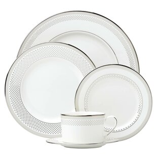 Whitaker Street Bone China 5 Piece Place Setting, Service for 1