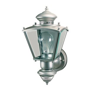 Germania Coach Metal Outdoor Wall Lantern with Motion Sensor