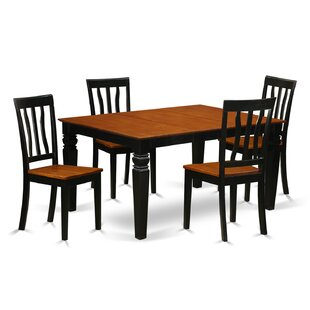 Arehart 5 Piece Dining Set by DarHome Co Amazing