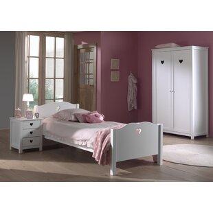 Andrews 3 Piece Bedroom Set By Harriet Bee