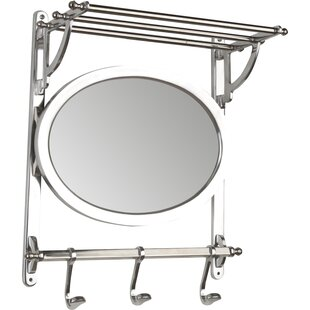 Wall Mounted Coat Rack With Mirror By Brayden Studio