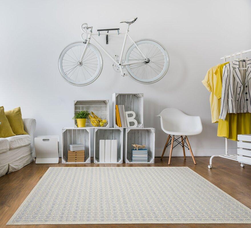floorita innen au enteppich skandi look in silber beige. Black Bedroom Furniture Sets. Home Design Ideas