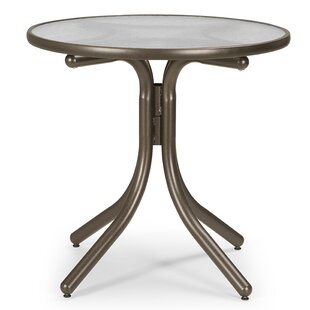 Obscure Acrylic Round Chat Table by Telescope Casual Great price