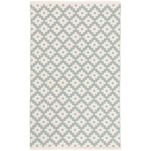 Savings Samode Blue/White Indoor/Outdoor Area Rug By Dash and Albert Rugs