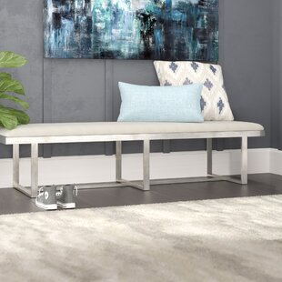 Dailey Metal Bench by Brayden Studio Cheap
