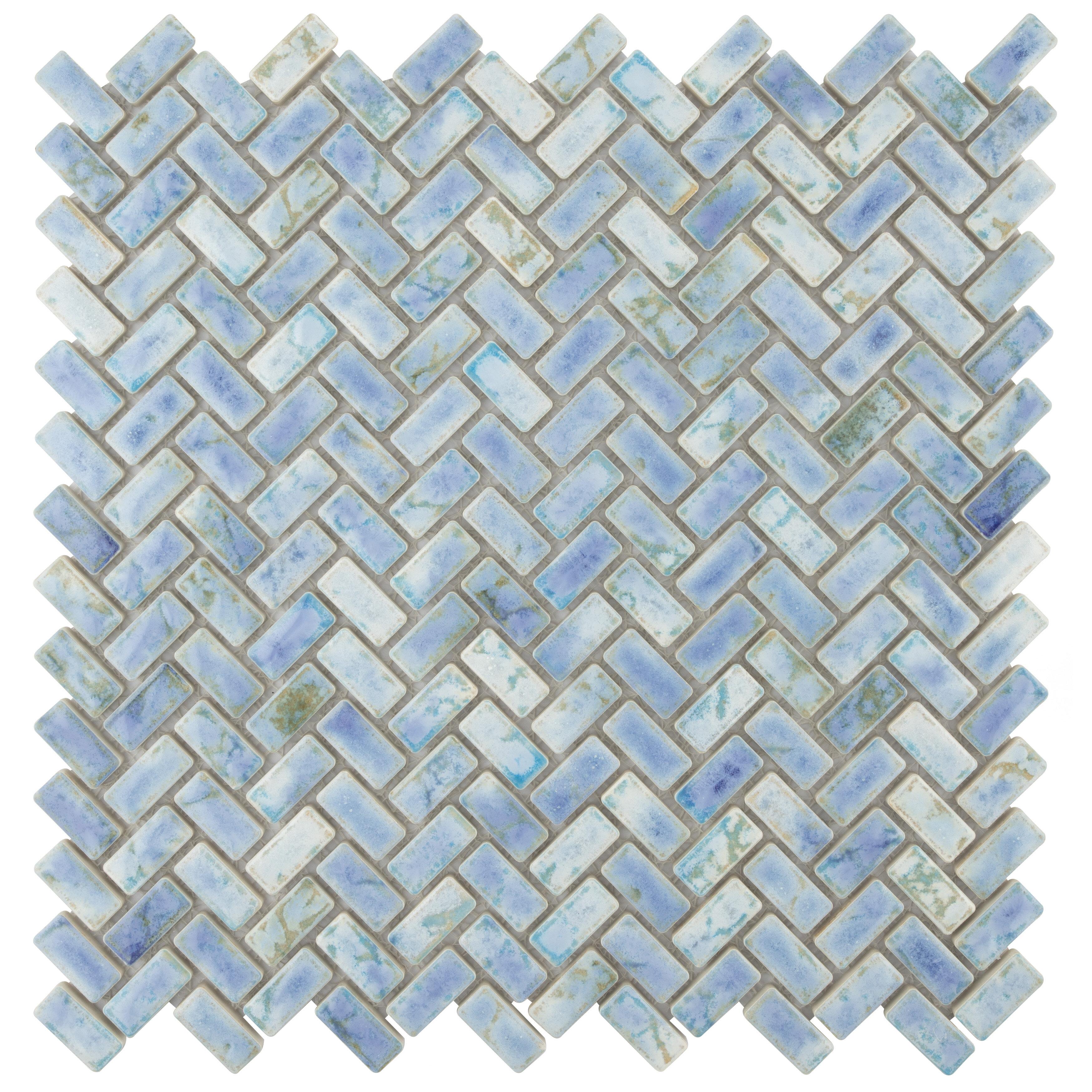 X 1 05 Porcelain Mosaic Tile