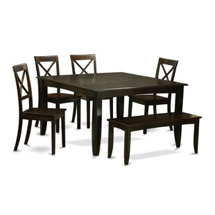 Pilning 6 Piece Dining Set August Grove