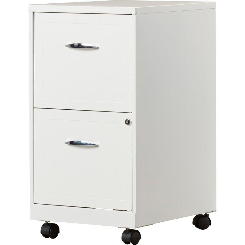 Gigi 2-Drawer Mobile Filing Cabinet  sc 1 st  Wayfair & Zipcode Design Gigi 2-Drawer Mobile Filing Cabinet u0026 Reviews   Wayfair