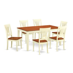 Napoli 7 Piece Dining Set by Wooden Impor..