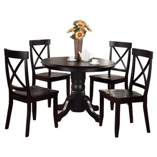 Standridge 5 Piece Dining Set by August Grove New