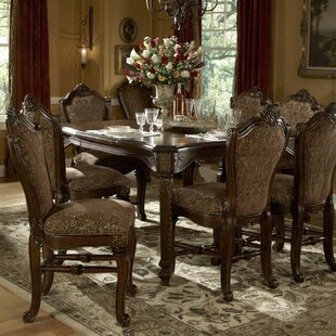 Windsor Court 9 Piece Solid Wood Dining Set