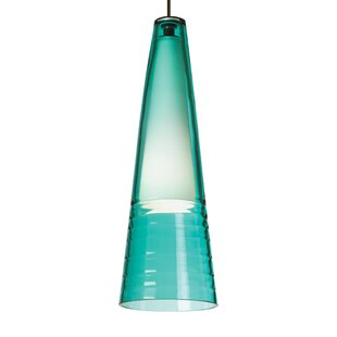 Orren Ellis Pickerel 1-Light Cone Pendant