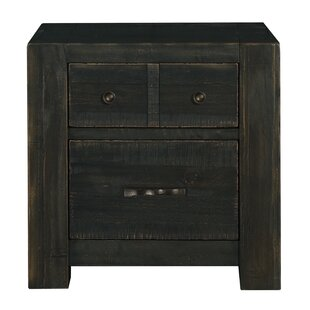 Wendy 2 Drawer Nightstand by Trule Teen