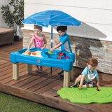 Table de jeu de sable et d'eau avec cascade et crique en plastique 42,5 po x 20,5 po