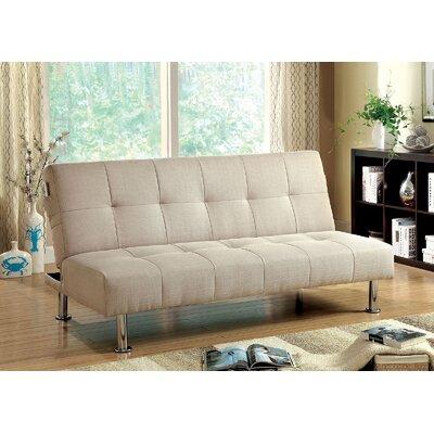 Strange Mcneill Adjustable Sofa Latitude Run Color Ivory Theyellowbook Wood Chair Design Ideas Theyellowbookinfo