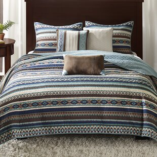 Bellview 6 Piece Reversible Coverlet Set