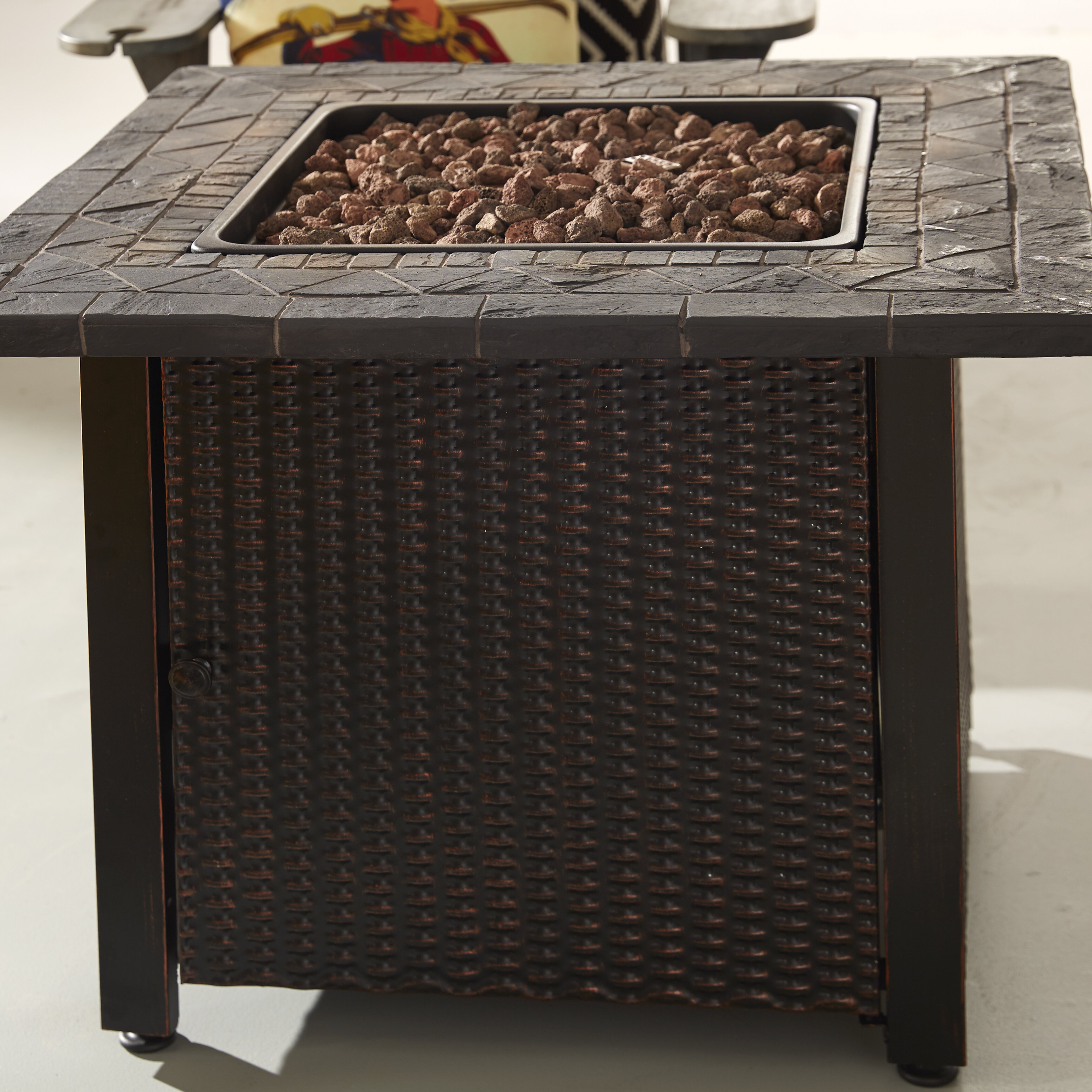 Endless Summer Outdoor Propane Fire Pit Table Reviews Wayfair Ca